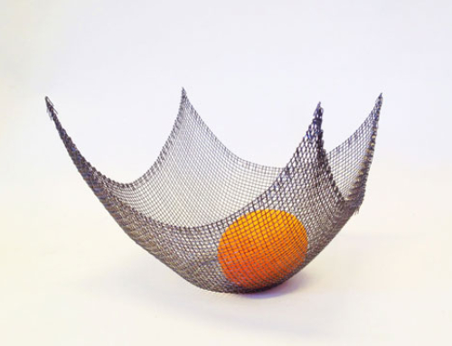 Parabolid fruit bowl